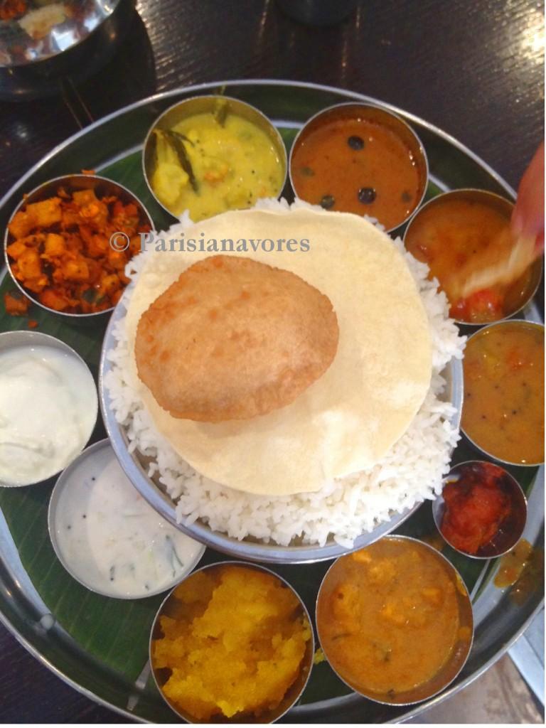Restaurant indien saravana bhavan