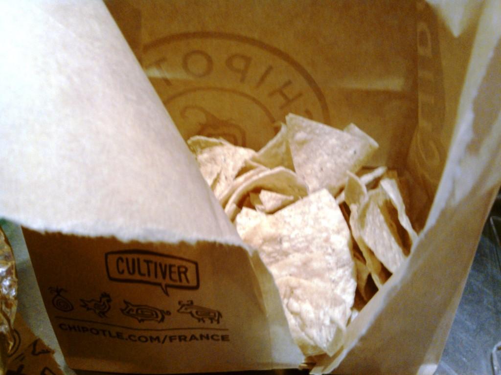 Les chips qui piquent pas trop emballade kraft écolo