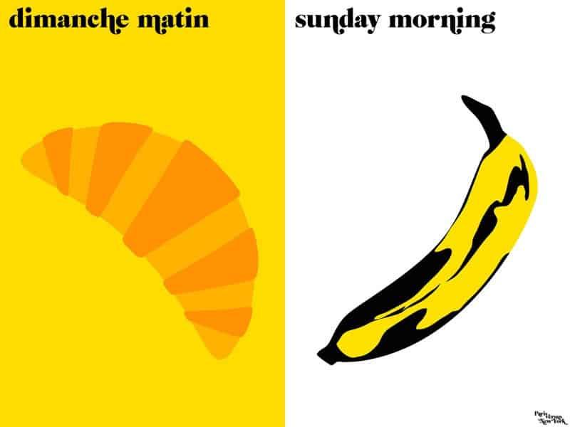 Paris vs New York sunday_morning