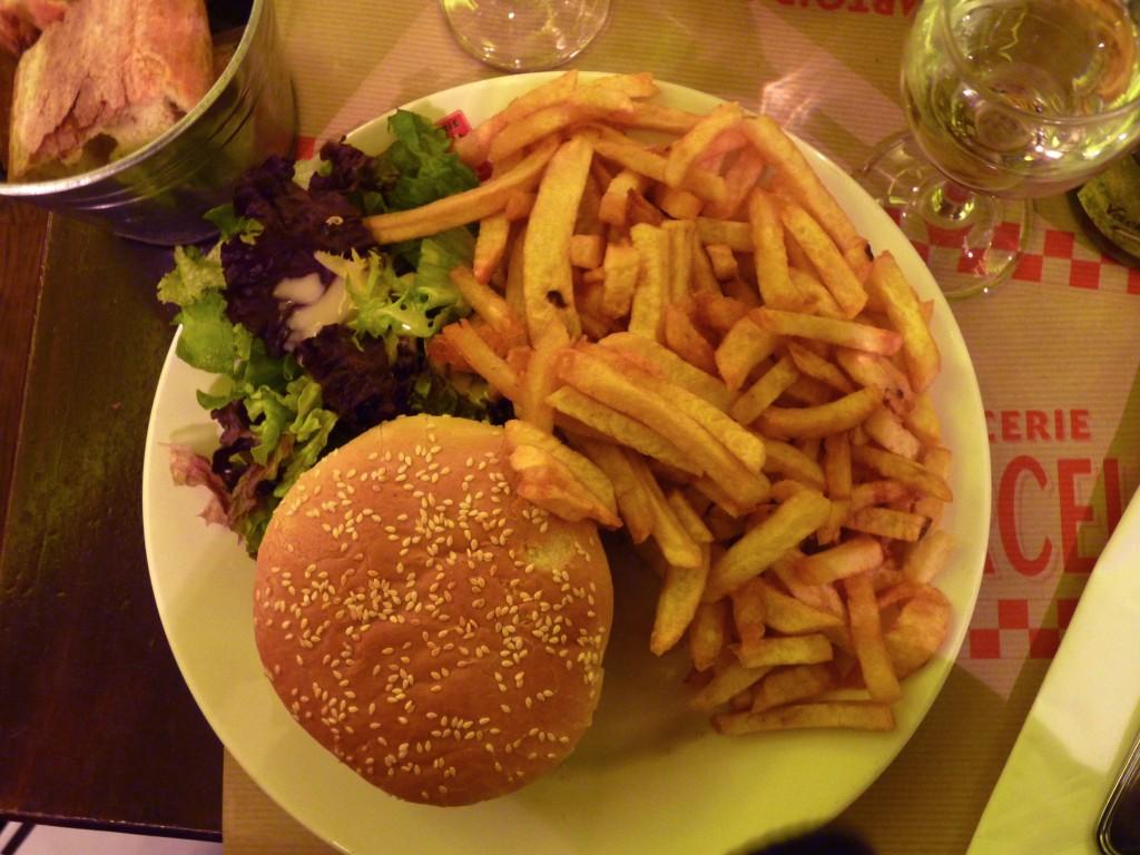 hamburger Lily et Marcel