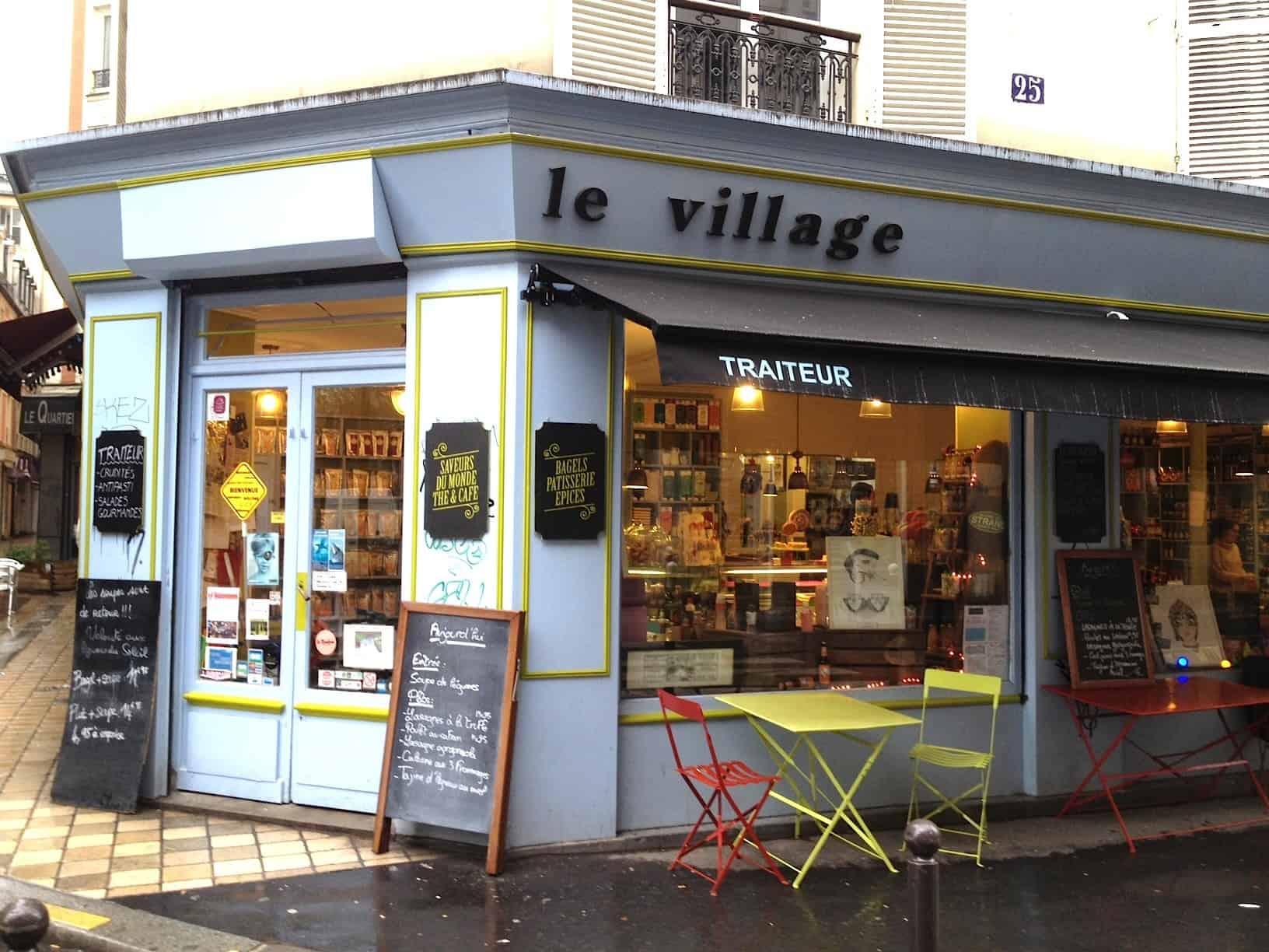 Le village picerie fine resto et brunch moins de 15 paris - Epicerie suedoise paris ...