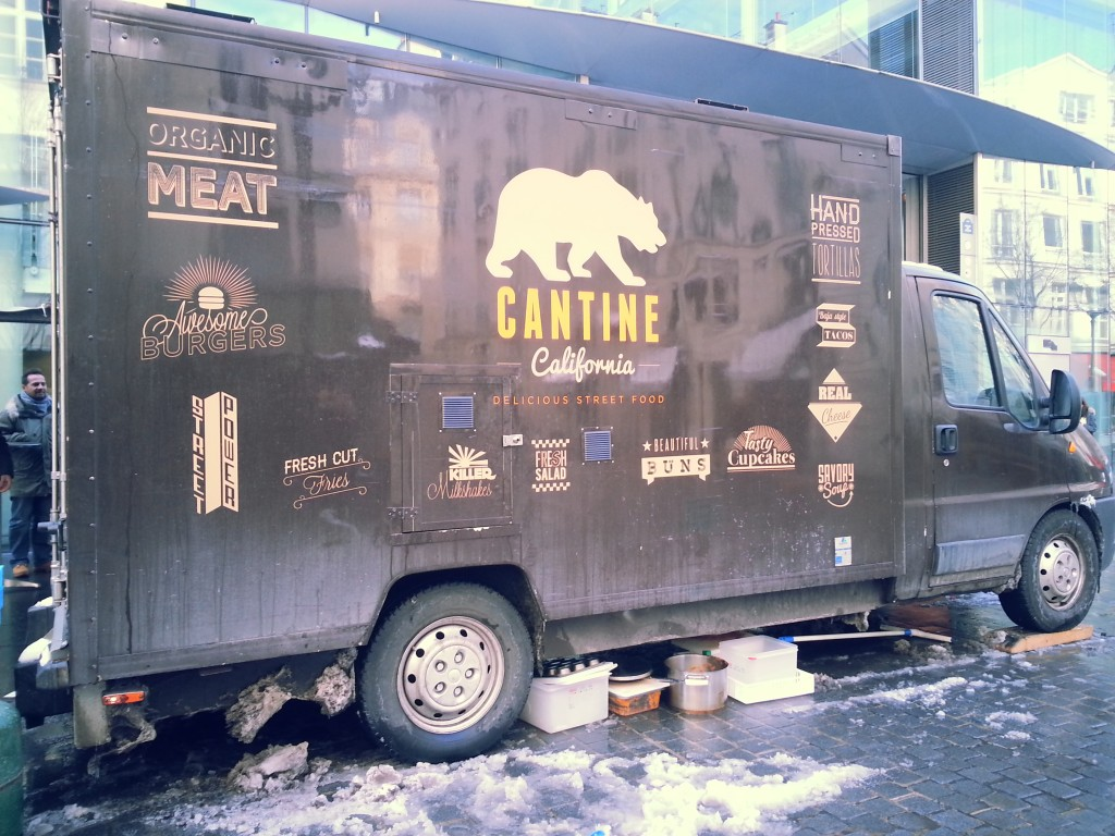 Camion Cantine California