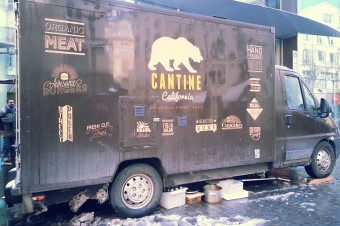 Cantine California ou le food truck à burgers californiens