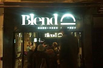 Blend Hamburger, la Burgerness de la rue d'Argout