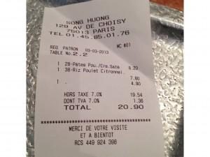 song-huong-restaurant-tarif