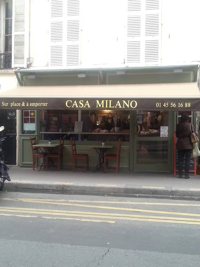 casa milano restaurant italien paris 7. Black Bedroom Furniture Sets. Home Design Ideas