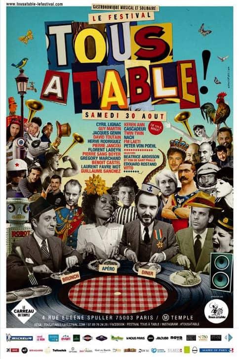 Premier Festival gastronomique – Tous à Table !