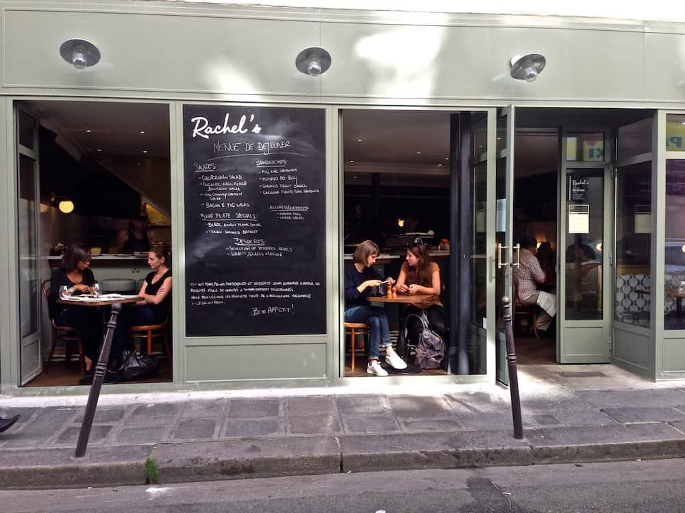 Rachel 39 s restaurant rue du pont aux choux - Bureau de change paris ouvert le dimanche ...