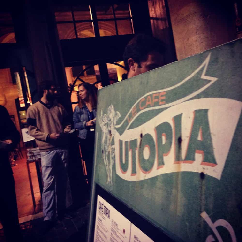 Le Cinéma Utopia et son café