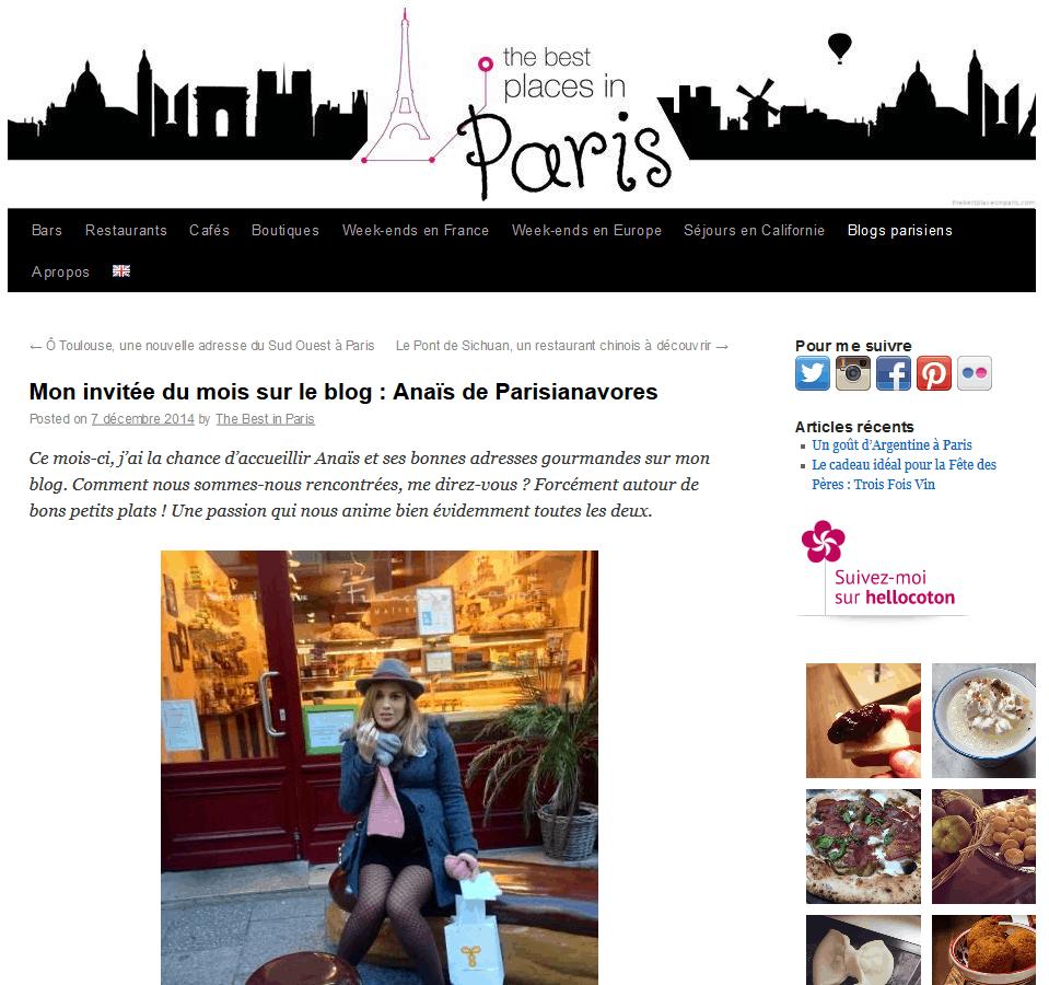 Mon invitée du mois sur le blog - Anaïs de Parisianavores - The best places in Paris 2015-07-29 16-39-16