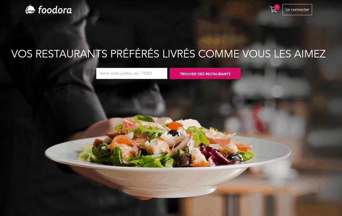 foodora - Le service de livraison de vos restaurants préférés