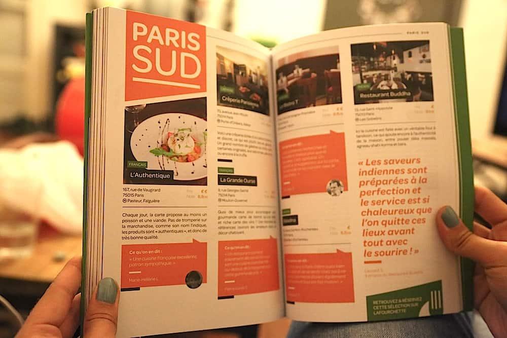 guide-papier-la-fourchette-resturants-paris