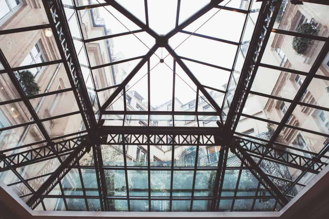 hyatt-Madel- Eiffeil Glass Roof