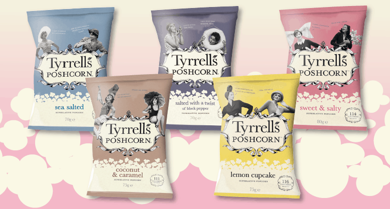 Poshcorns Tyrrells