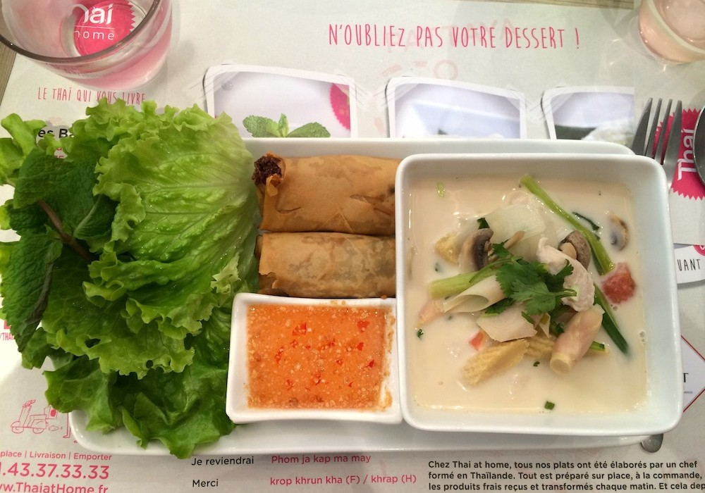 Thai at home paris restaurant parisianavores for At home thai cuisine