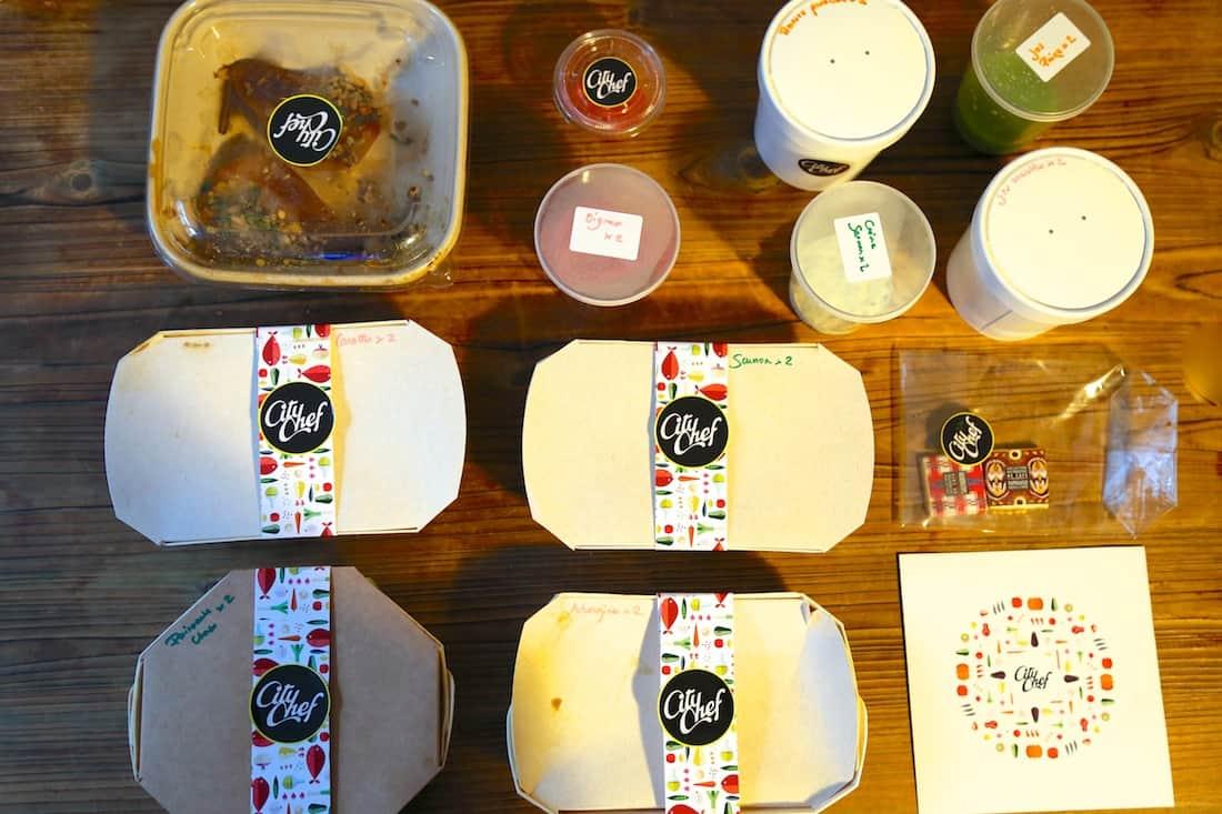 citychef un menu gastronomique livr domicile. Black Bedroom Furniture Sets. Home Design Ideas