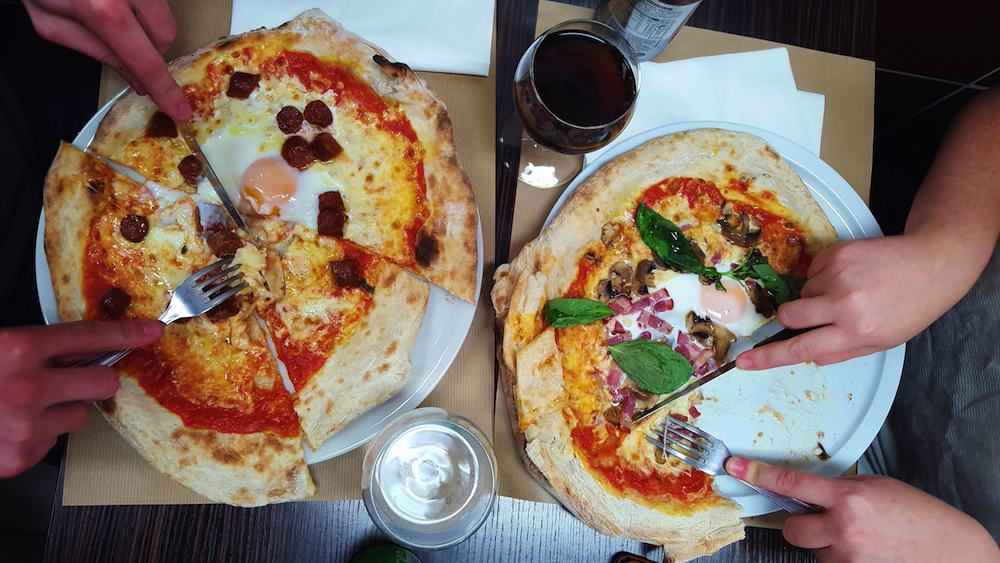 Pizza Rossi, la pizza napolitaine au prix quasi napolitain à Paris