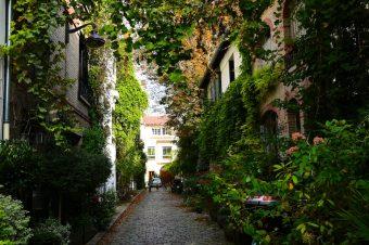 Promenade de la Villa Santos Dumont à la Petite Ceinture – Paris 15