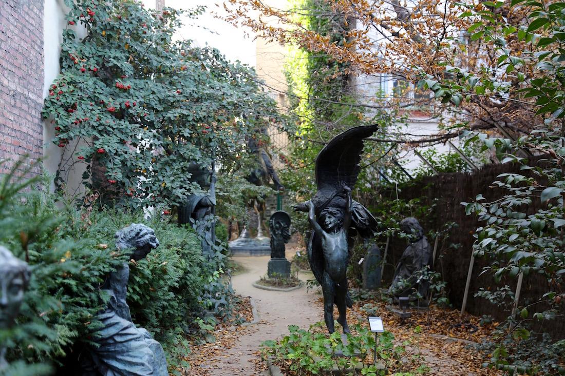 Mus e bourdelle for Le jardin 75015