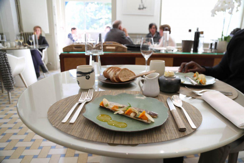 D jeuner au jardin des plumes l 39 toil enchanteur d 39 eric for Restaurant dans jardin paris