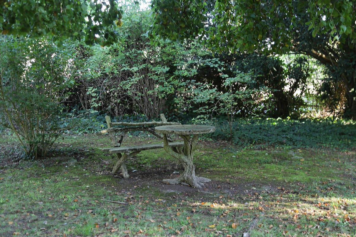 D jeuner au jardin des plumes l 39 toil enchanteur d 39 eric for Restaurant le jardin 02