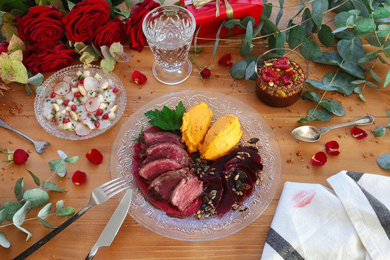 Se faire livrer un repas de saint valentin - Idee repas saint valentin ...