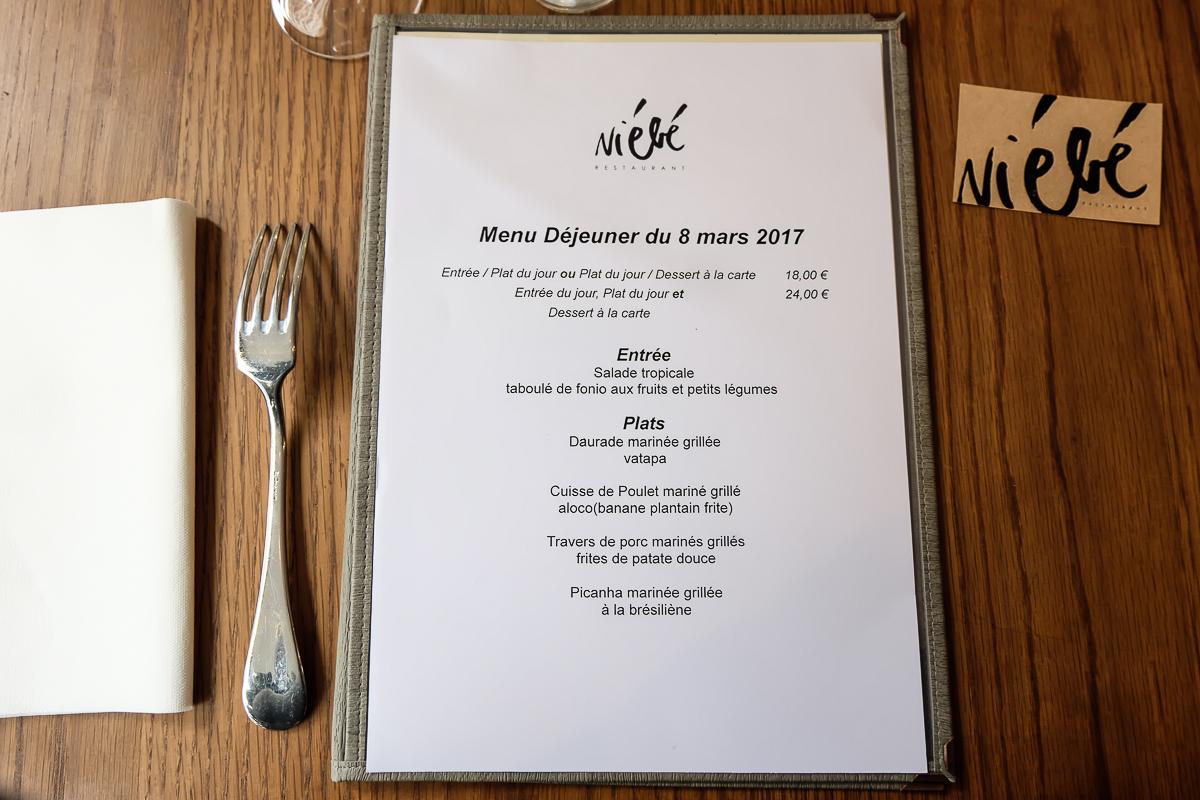 Le Fonio Restaurant Paris