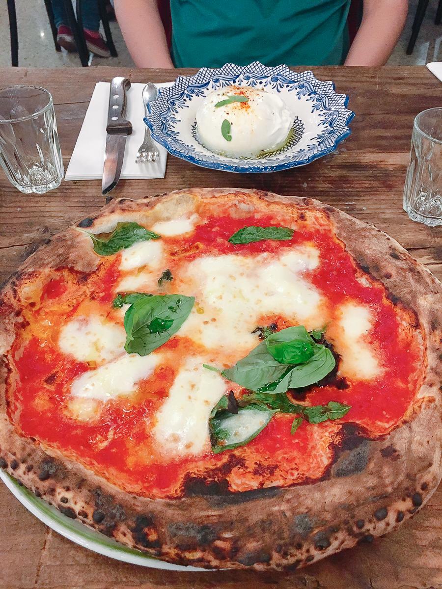 À base de Popolare, rien n'est meilleur qu'une pizza Big Mamma