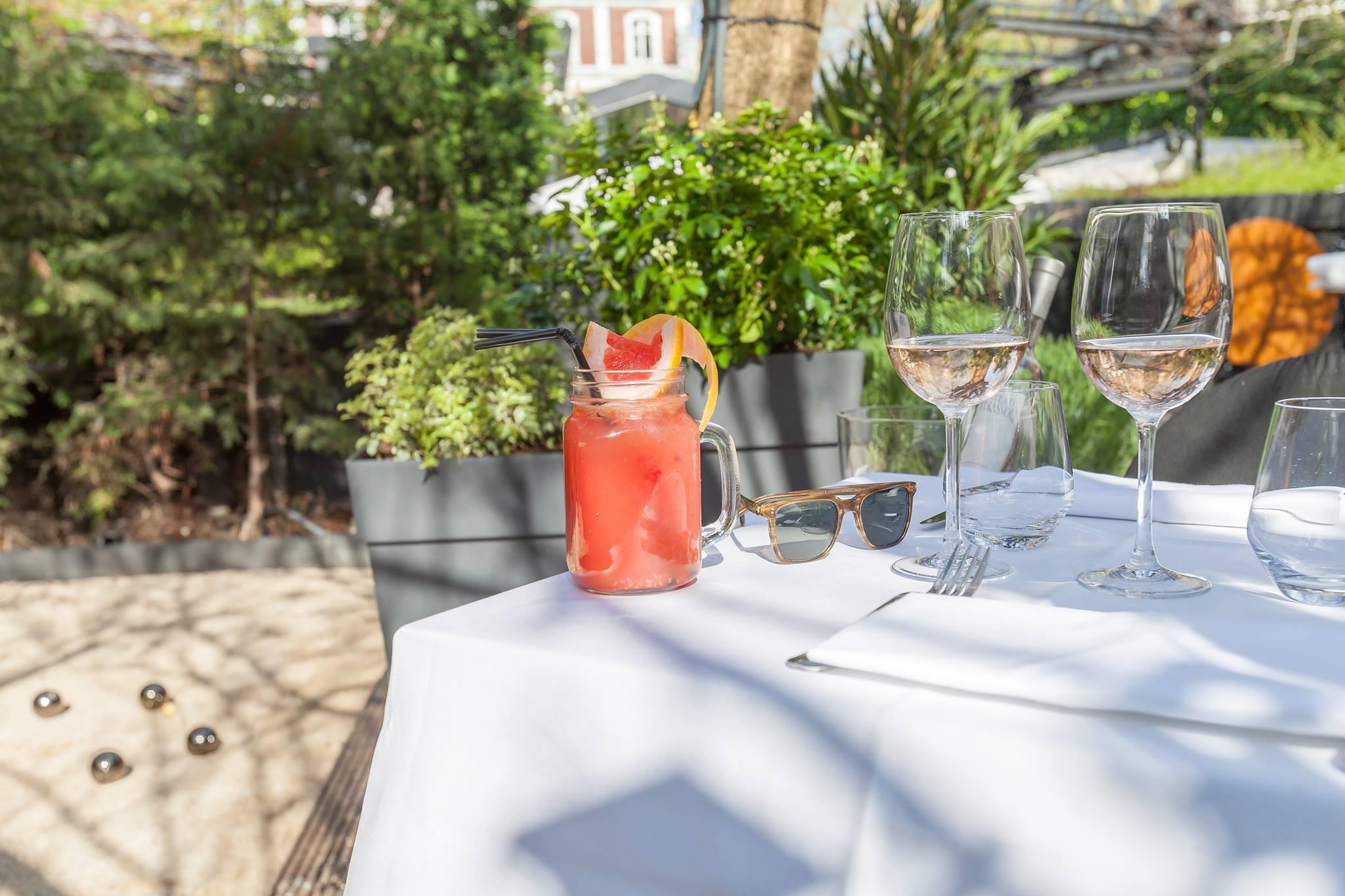 Terrasses paris for Le jardin 75015