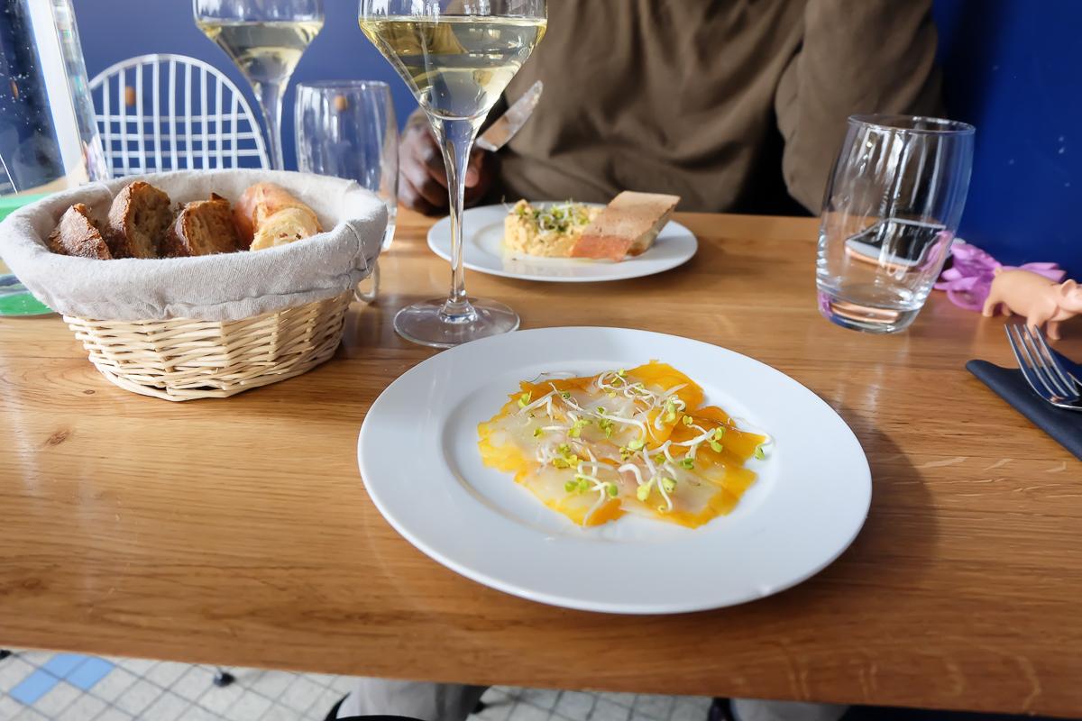 Fichon rep re pour amoureux du poisson dans le 18 me for Restaurant miroir paris 18