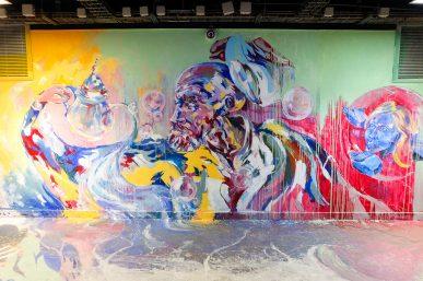 Rehab #2 : 100 artistes urbains repimpent la Maison des Arts et Métiers