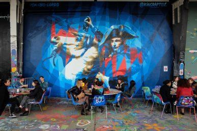 L'Aérosol Paris, lieu éphémère dédié au street art (& food)