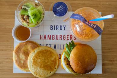 Birdy Hamburgers, burgers, frites et brunchs en livraison à domicile