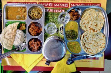 Krishna Bhavan, restaurant indien traditionnel et végétarien