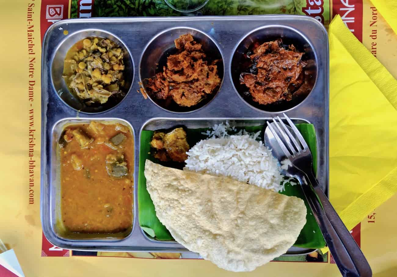 Krishna bhavan restaurant indien traditionnel et v g tarien for Krishna bhavan paris