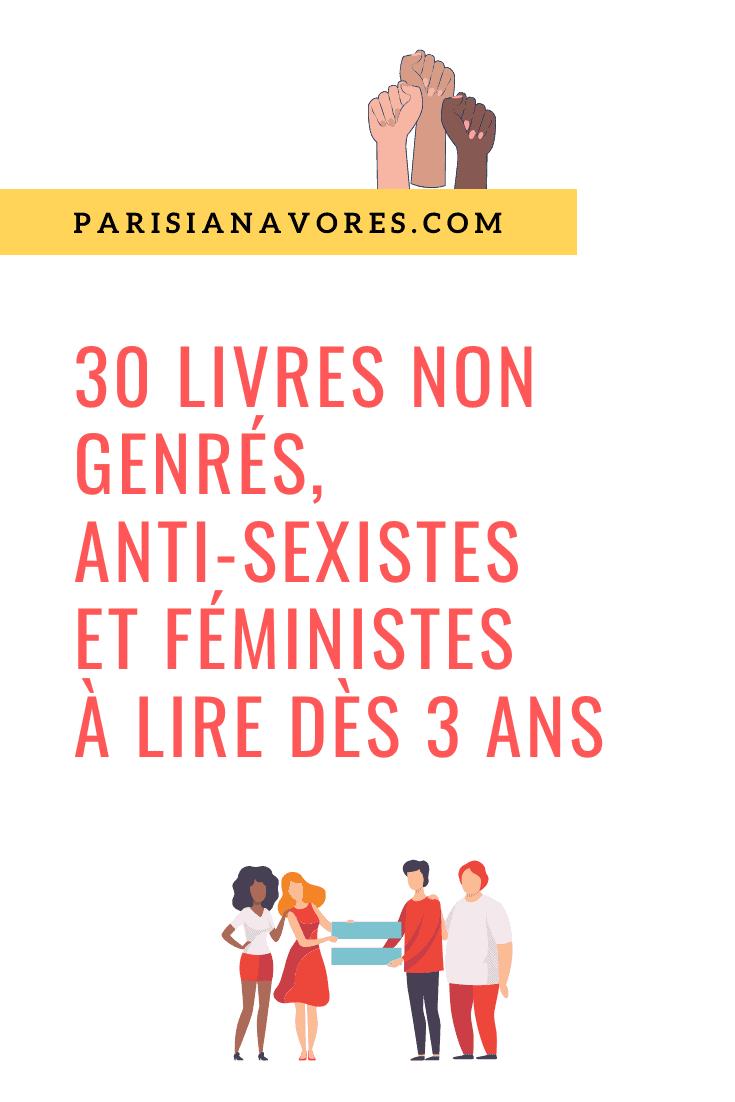 livres-anti-sexistes-feministes jeunesse