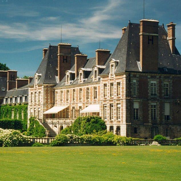 chateau-Courances
