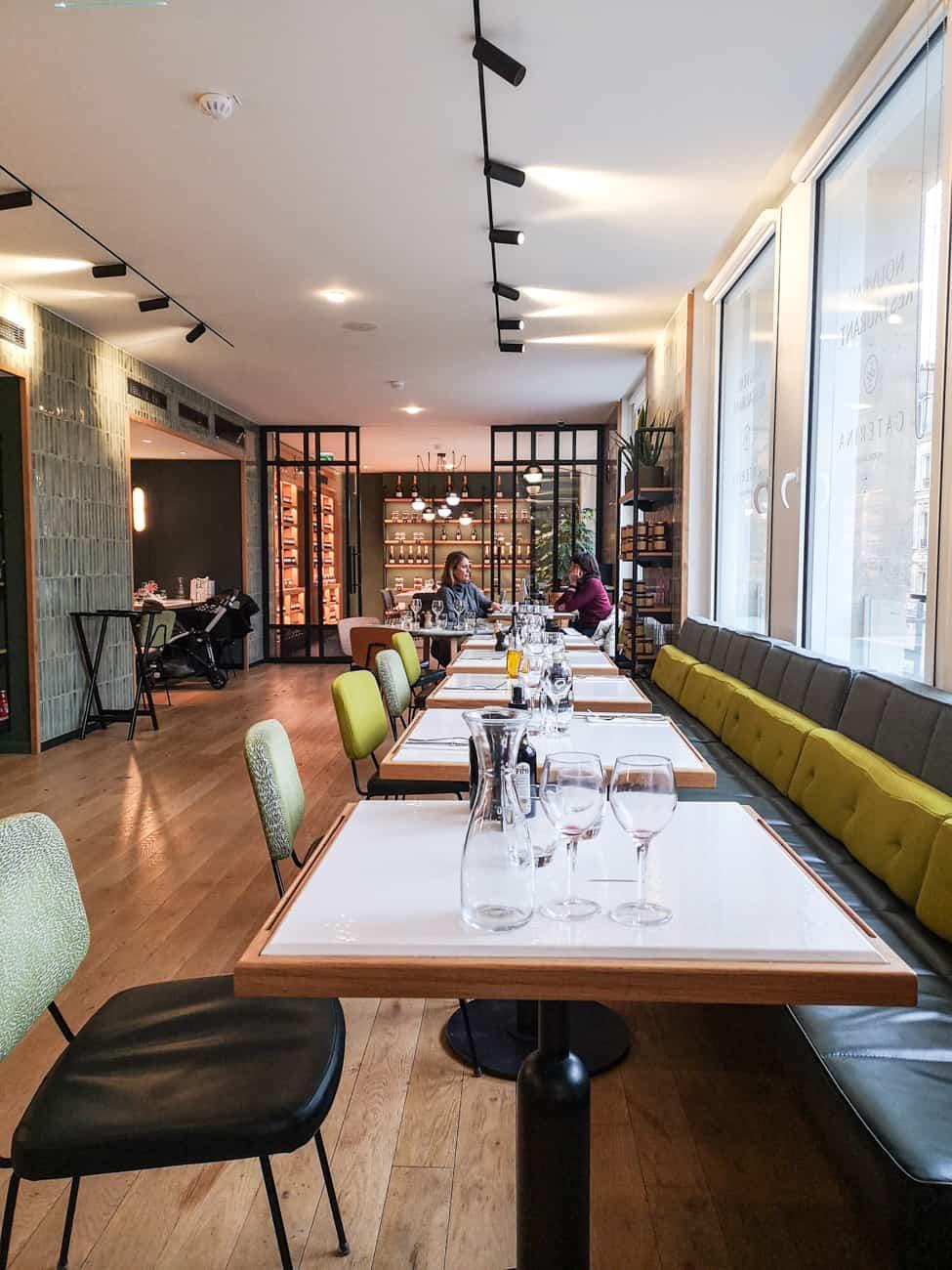 restaurant italien caterina paris 16eme