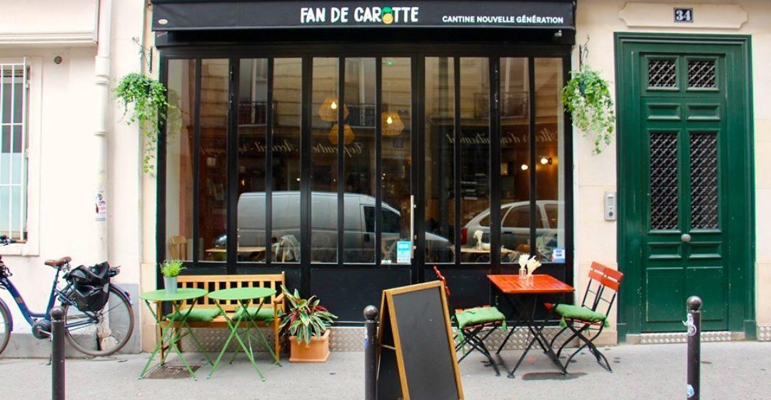 Fan de Carotte, cantine pour les familles, Paris 17