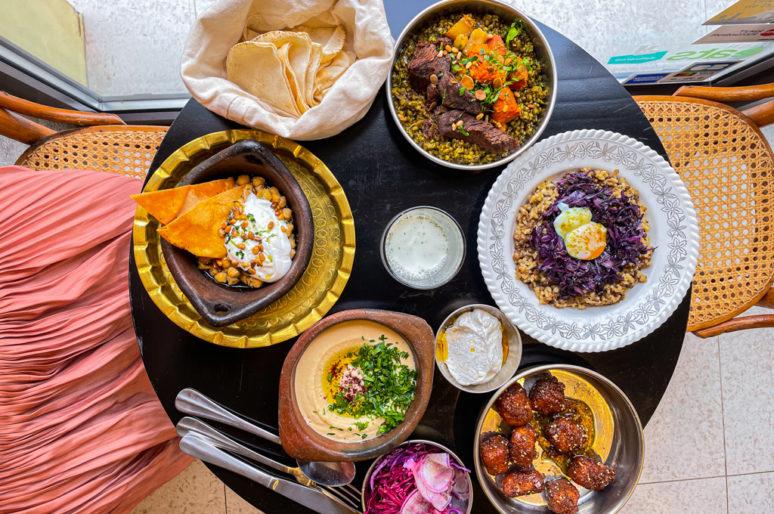 Tintamarre, restaurant libanais, Paris 19
