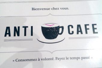 L'Anticafé, consommez à volonté, payez le temps passé !
