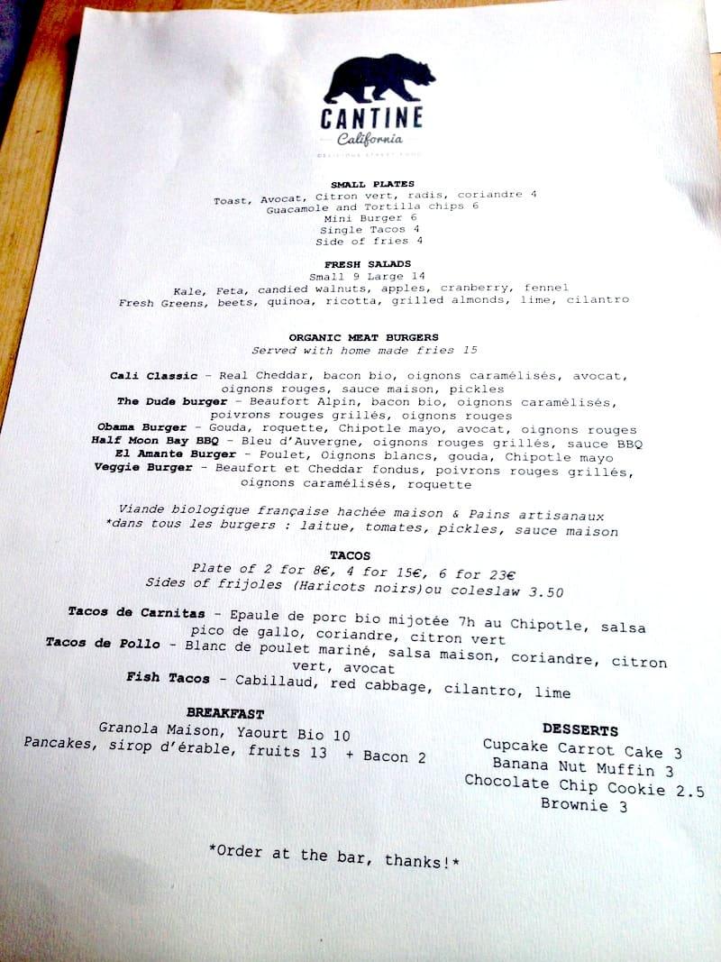 menu-cantine-california-tarifs