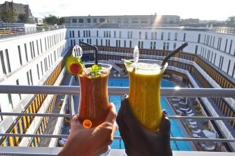 Le rooftop de l'hôtel Molitor