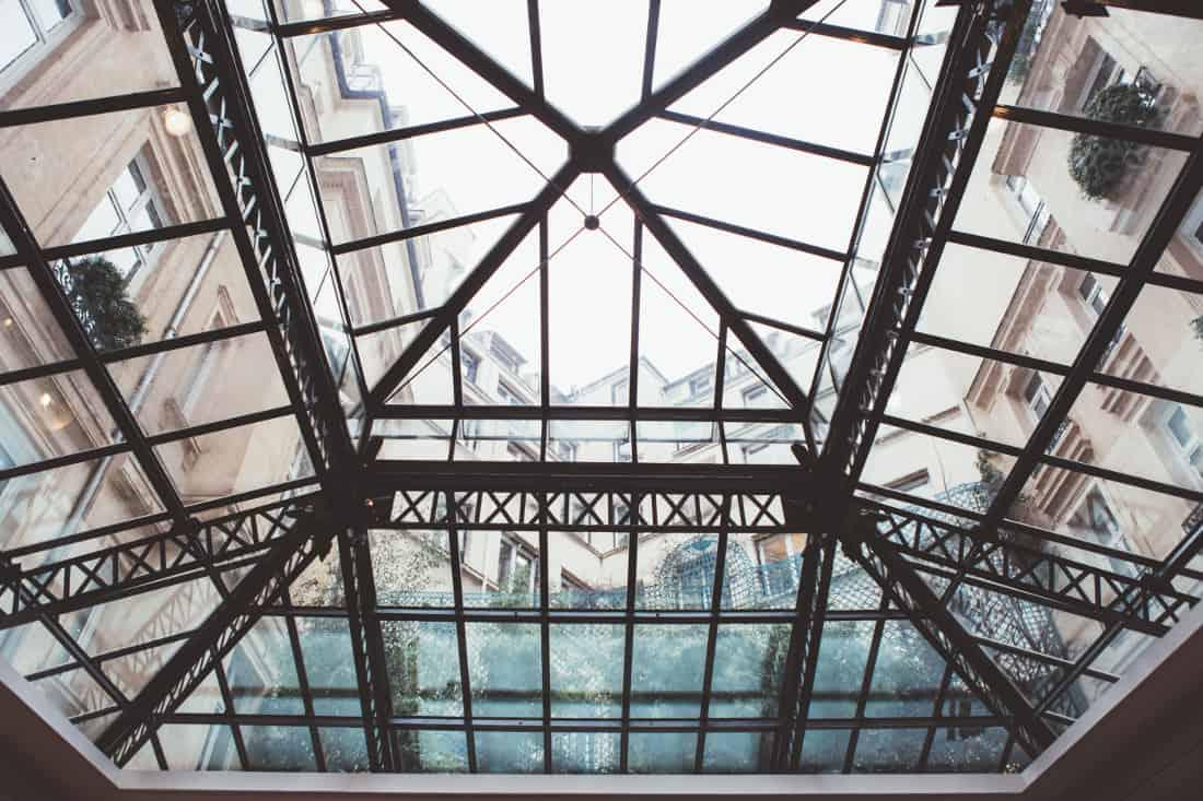 hyatt-Madel- Eiffeil Glass Roof