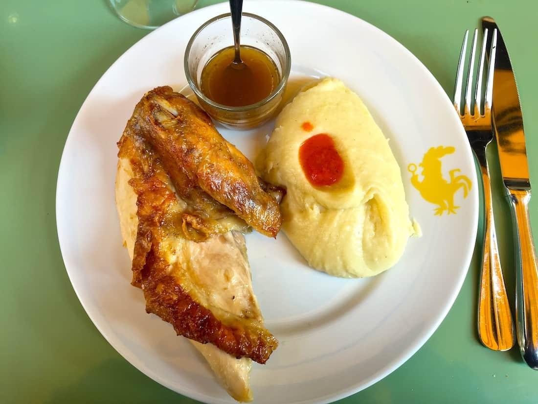 poulet-puree