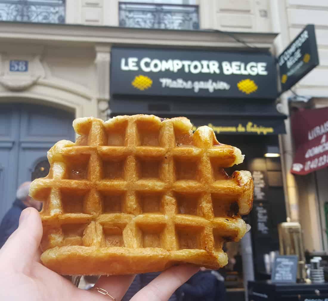 gaufre-liegoise-belge-paris-comptoir-belge