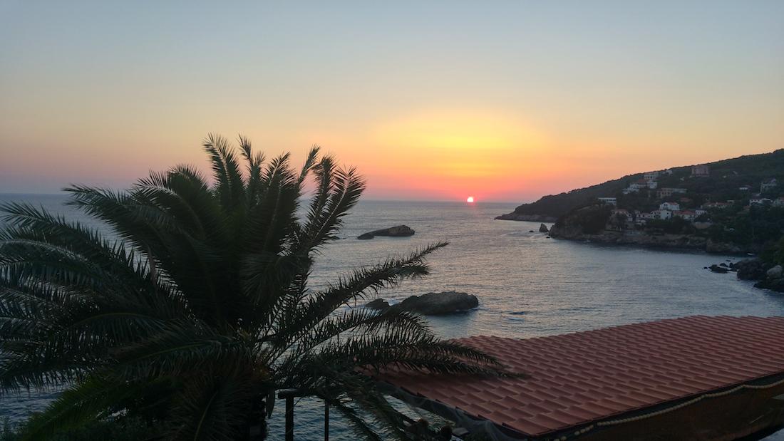 ulcinj-montenegro-sunset