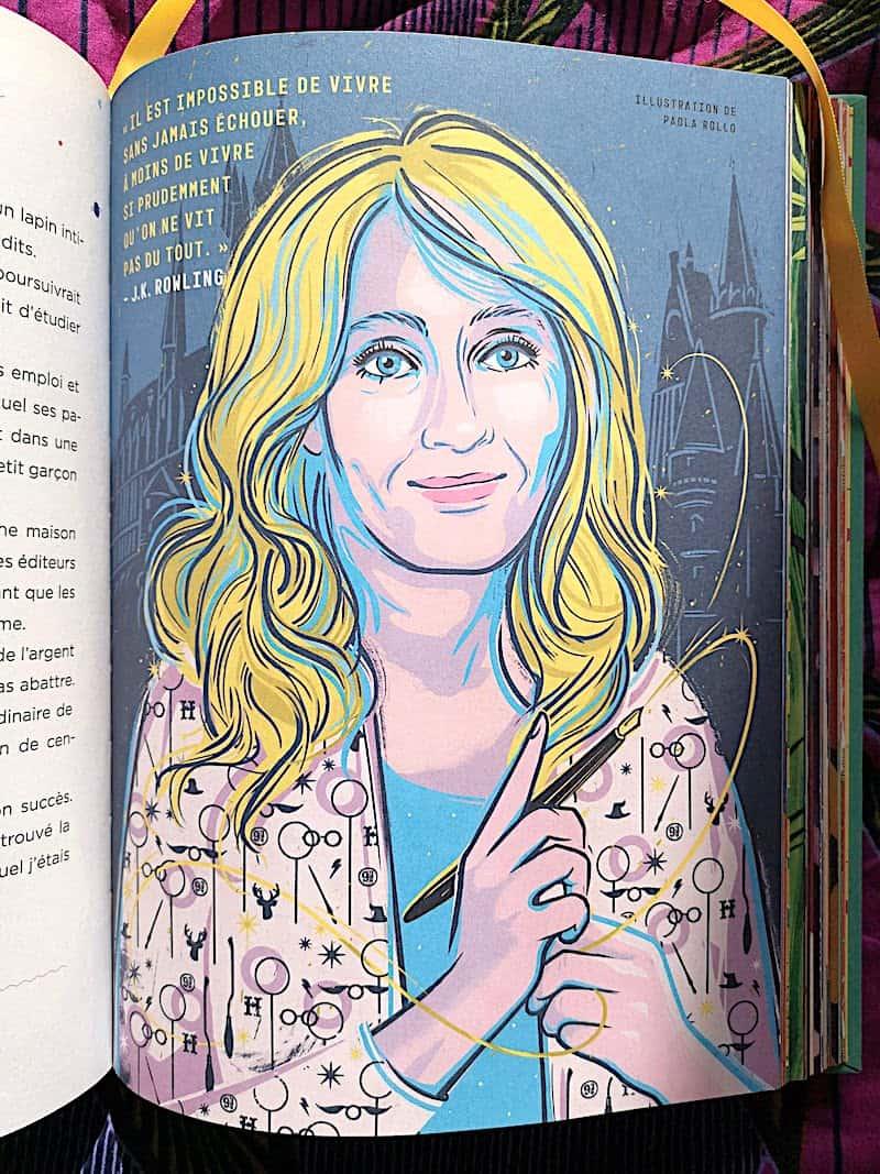 livres portraits de femmes pour enfants
