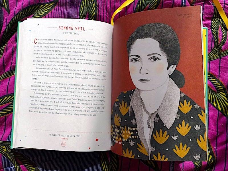 livres portraits de femmes