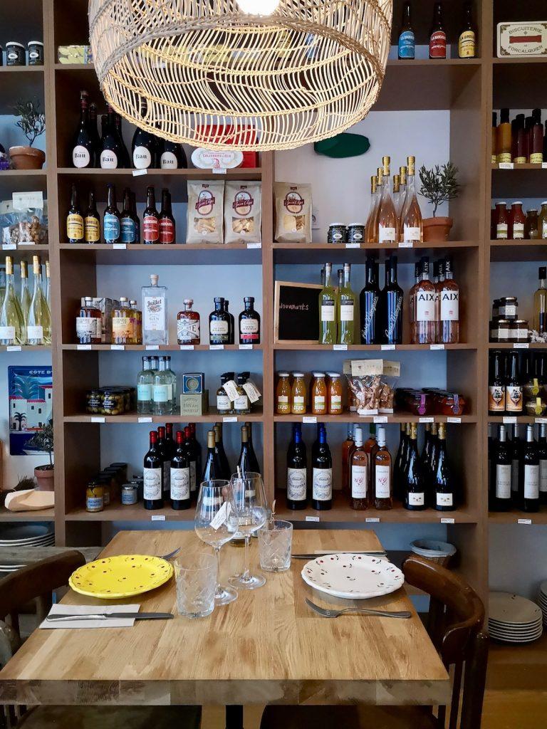 A l'ombre restaurant paris provence